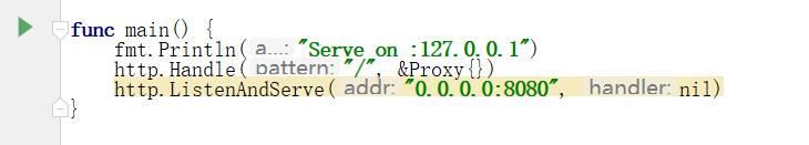 Golang语境实现HTTP代理